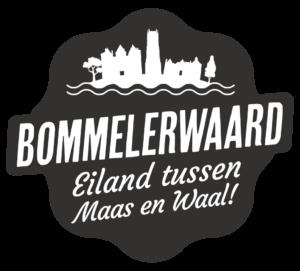 logo bommelerwaard eiland tussen maas en waal
